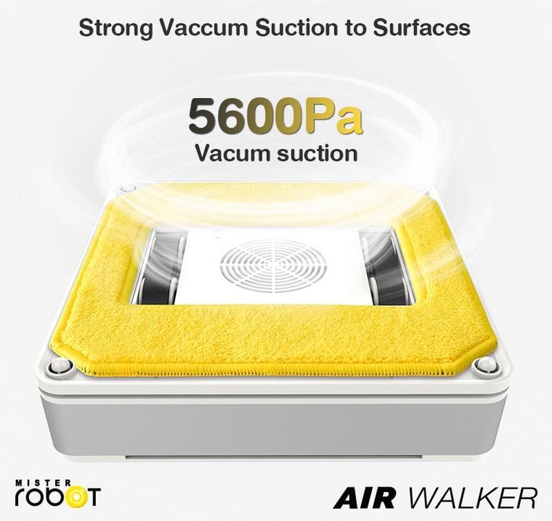 Mister Robot AIR WALKER Feature Strong Suction Power