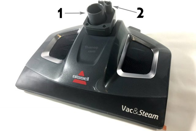 BISSELL Vac and Steam Foot Component Top