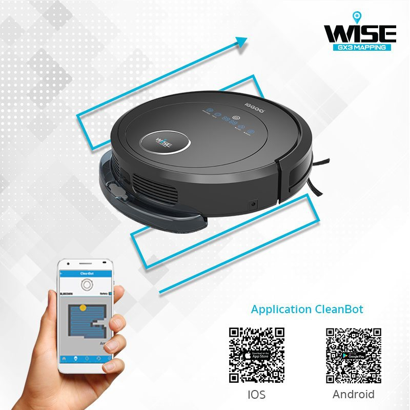iGGOO WISE Feature Wi-Fi Control