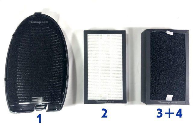 MITSUTA KF-P21 Feature Air Filter