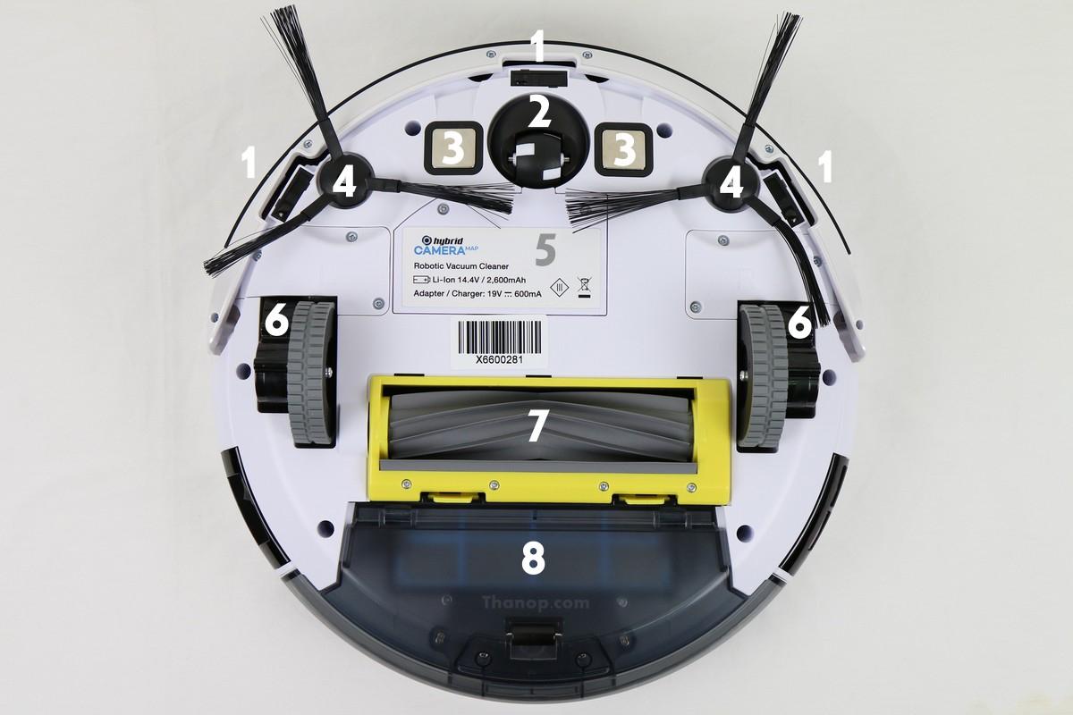 Mister Robot Hybrid Camera Map Wi-Fi App Interface Setting