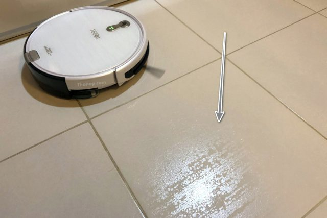 Mister Robot Hybrid Camera Map Working with Mopping Function