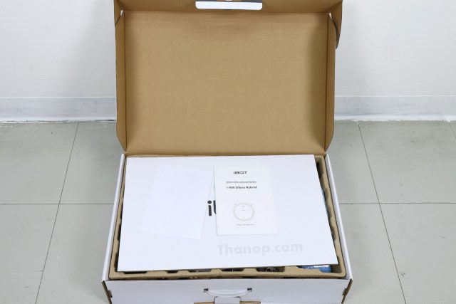 iBot i900 Hybrid Dibea Box Unpacked with Cover