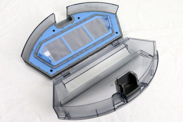 iBOT i900 Hybrid Dibea Dustbin Opened