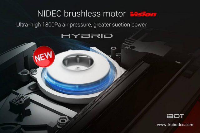 iBOT i900 Hybrid Dibea Feature BLDC Motor