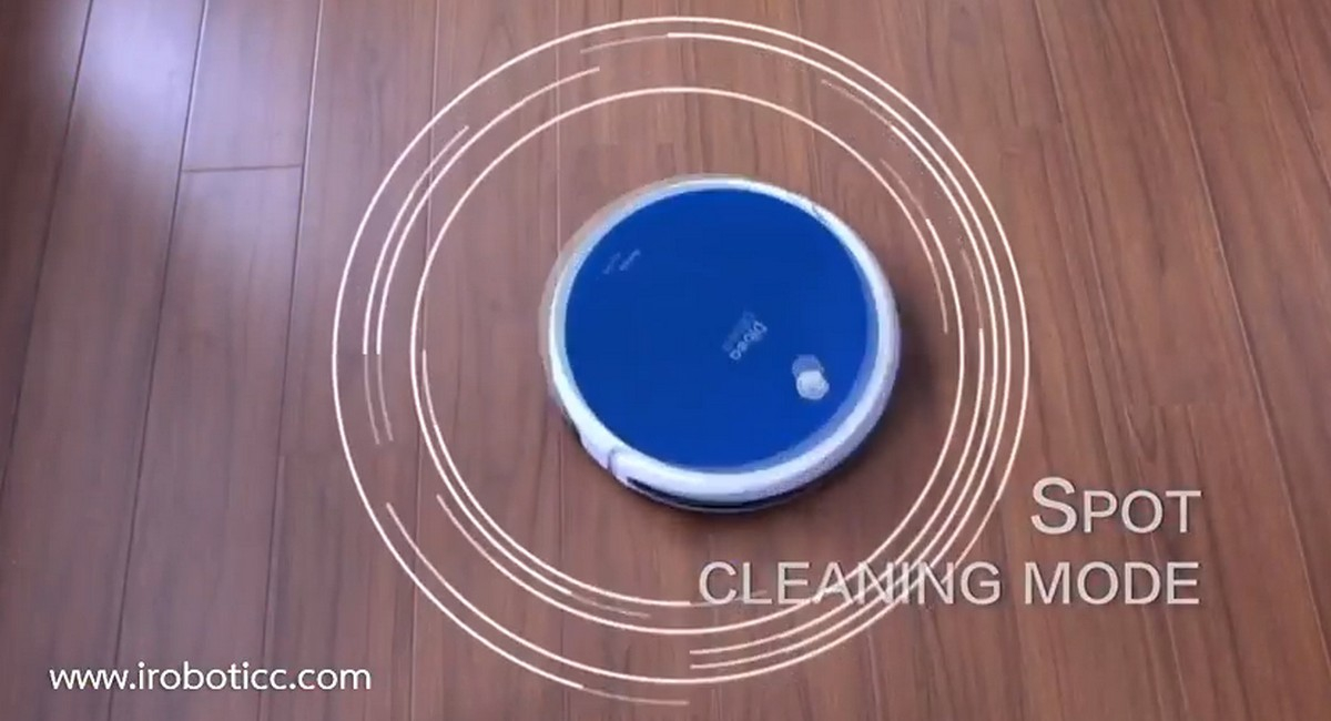 iBOT i900 Hybrid Dibea Feature Cleaning Mode Spot