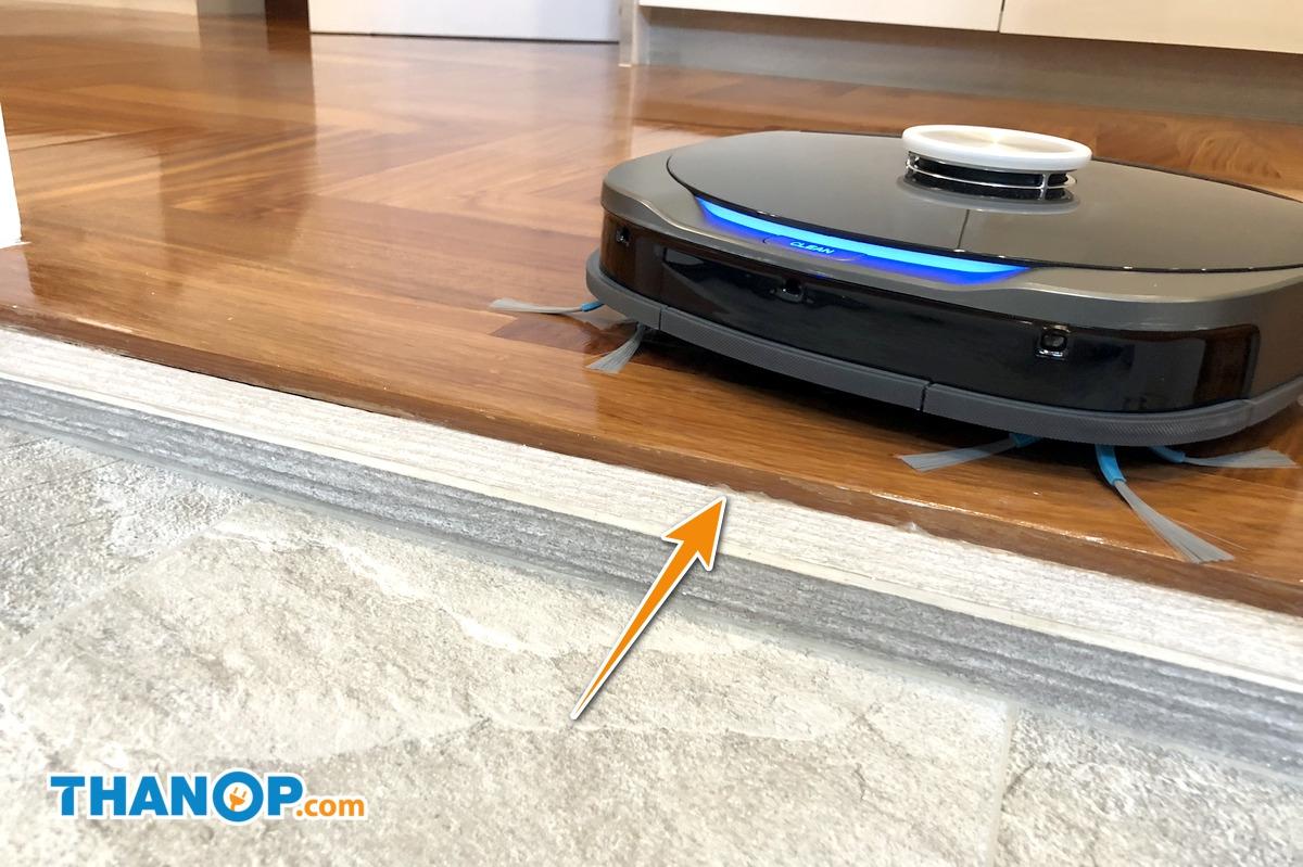 AUTOBOT Lazer Floor Sensor Test