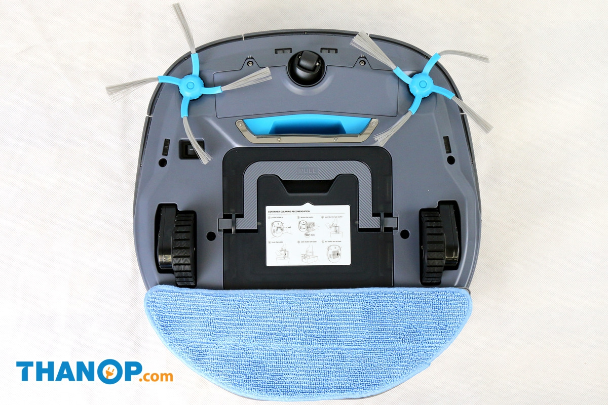 AUTOBOT Lazer Water Tank and Microfiber Cloth Installed