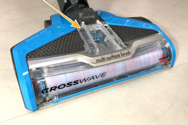 BISSELL CrossWave Working without Water
