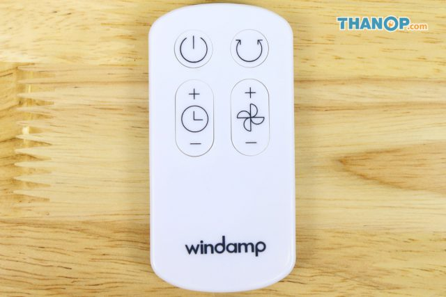 Windamp Bladeless Fan Remote Control