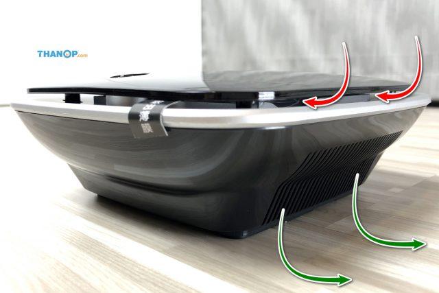 CONOCO Car Air Purifier S1 Air Flow