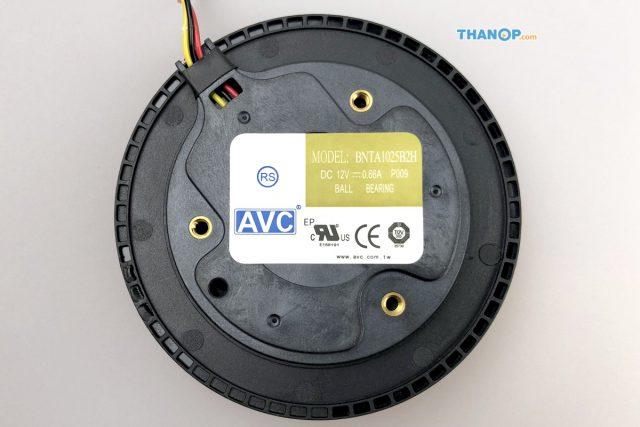 CONOCO Car Air Purifier S1 Fan Underside