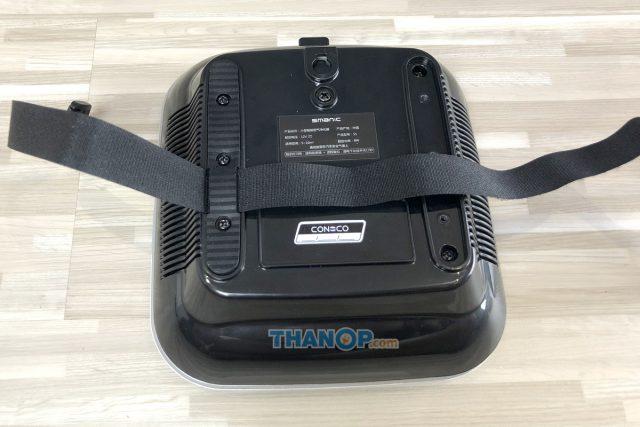 CONOCO Car Air Purifier S1 Headrest Belt Installing