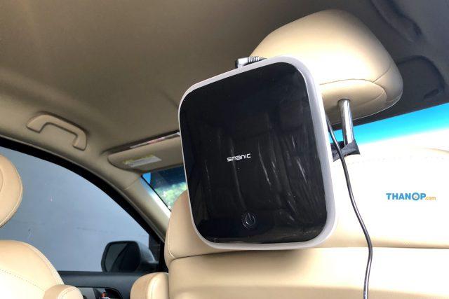 CONOCO Car Air Purifier S1 Power Working on Car Headrest Holder