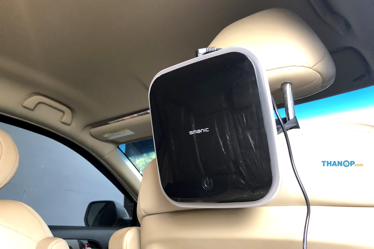 CONOCO Car Air Purifier S1 Power Working on Car Headrest Holder