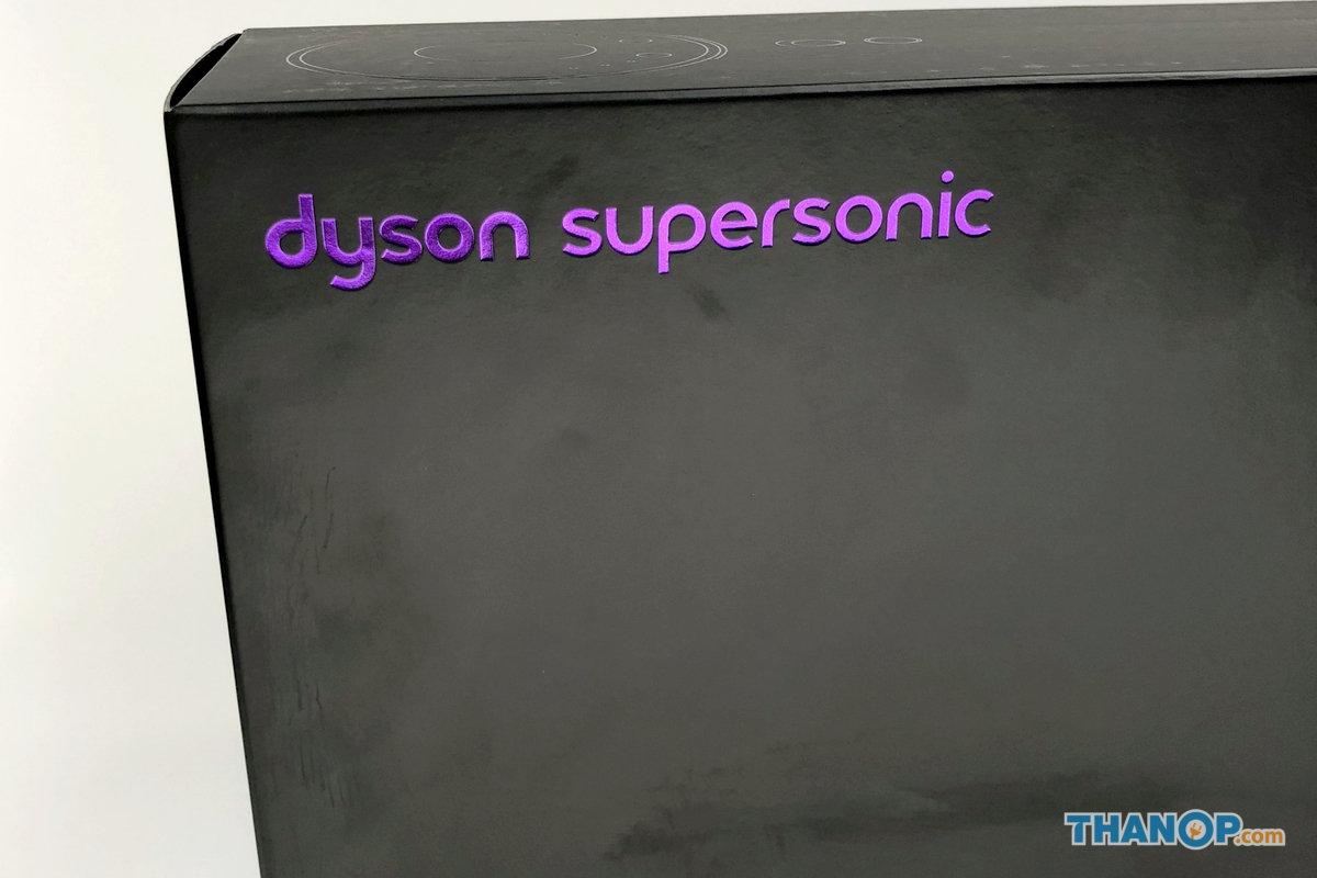 Dyson Supersonic Box Front and Rear
