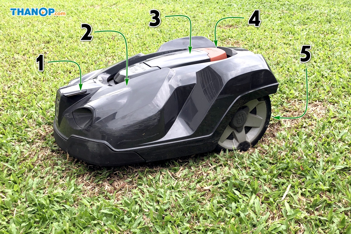 Robot Lawn Mower Component Top