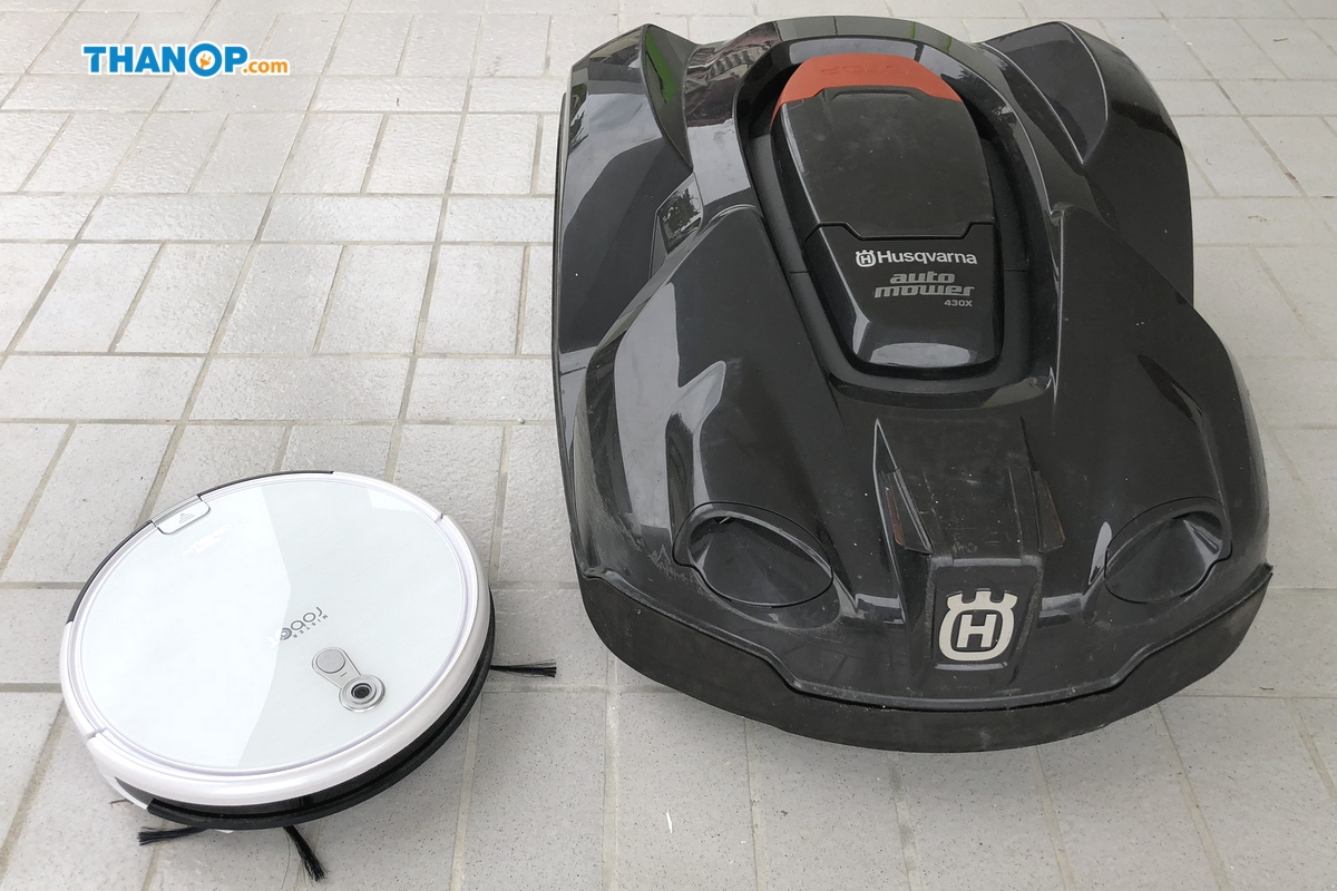 Robot Lawn Mower vs Robot Vacuum Cleaner