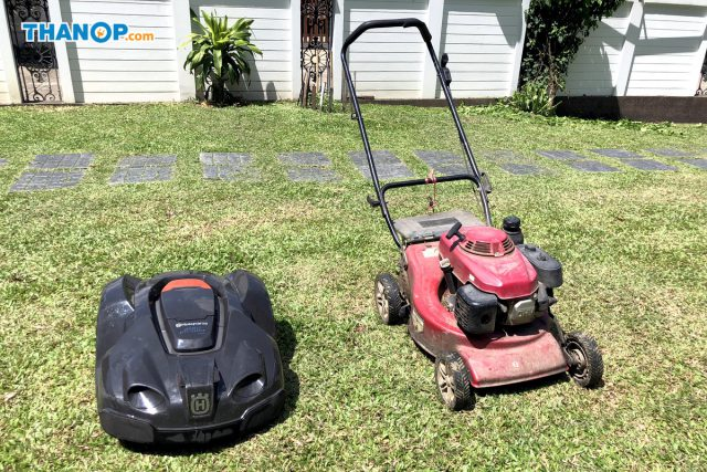 Robot Lawn Mower vs Traditional