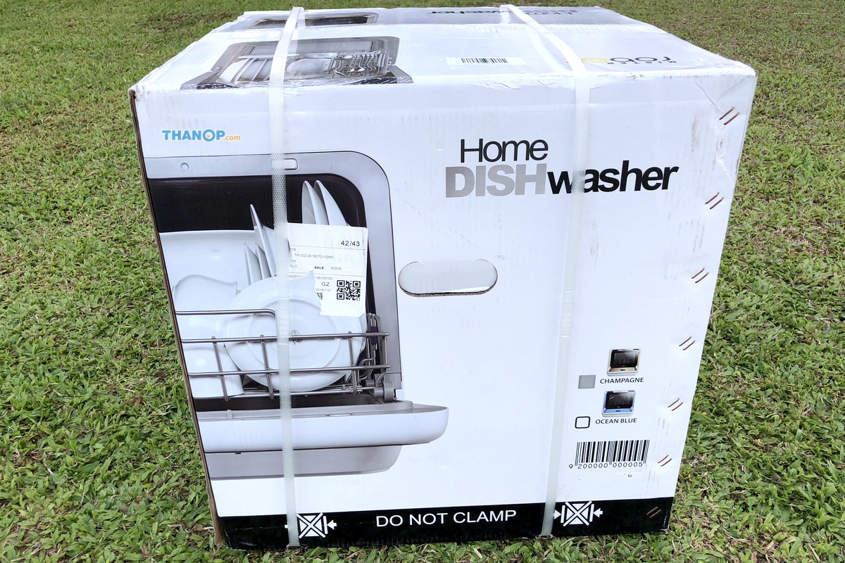 Mister Robot Home Dishwasher Box Left
