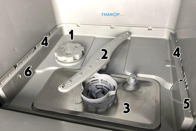 Mister Robot Home Dishwasher Component Inside Underside