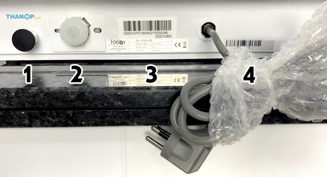 Mister Robot Home Dishwasher Component Rear