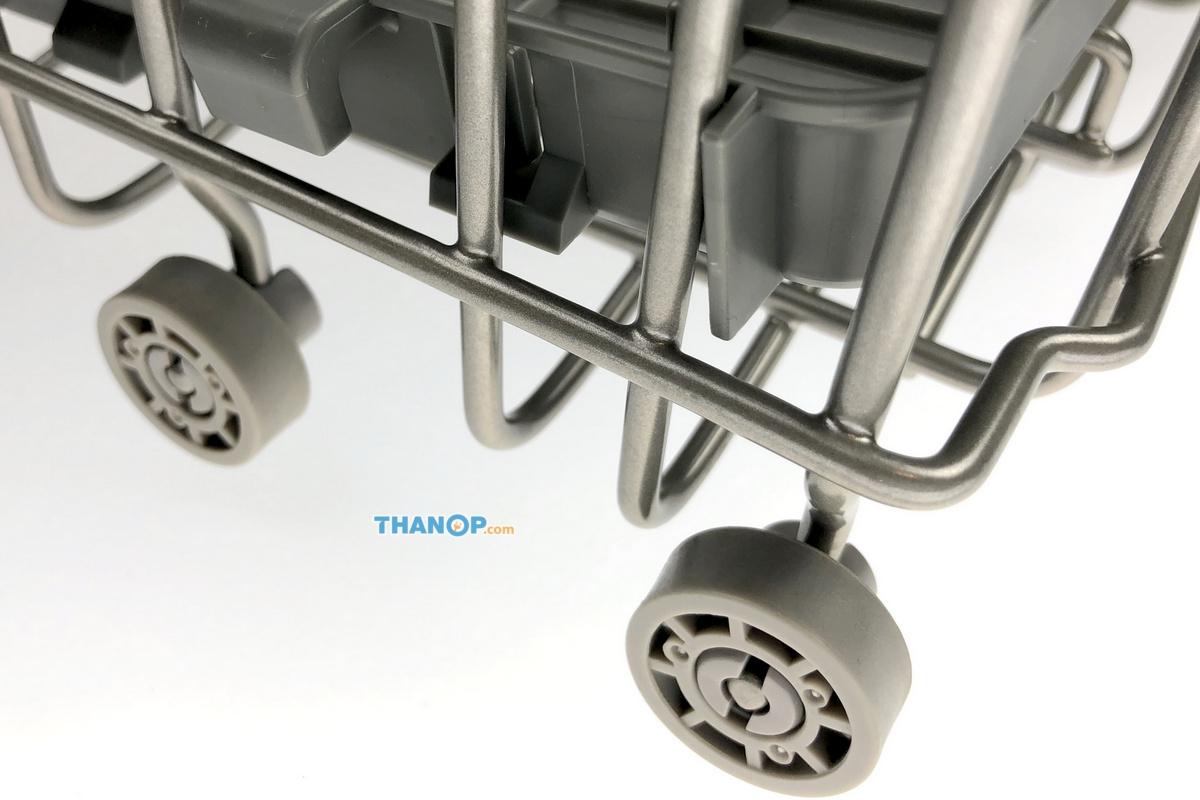 Mister Robot Home Dishwasher Tableware Basket Caster Wheel