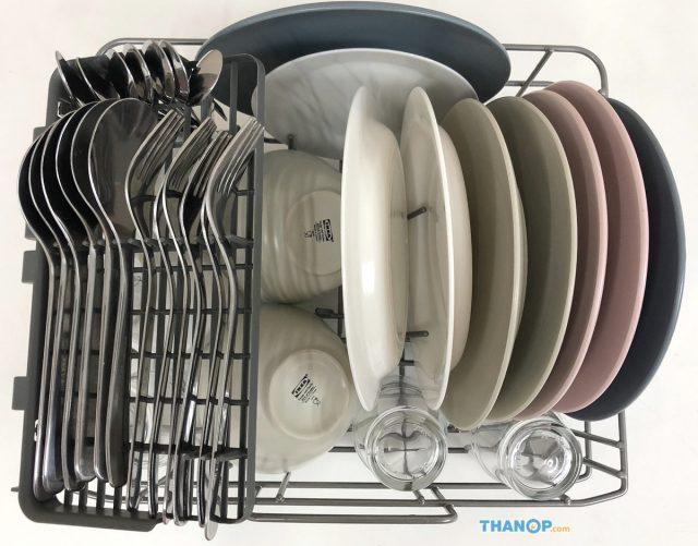 Mister Robot Home Dishwasher Utensil Loaded with Cutlery Basket