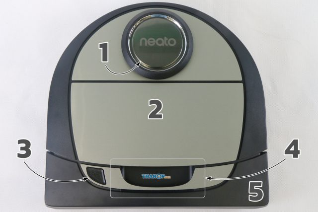 Neato Botvac D7 Connected Component Top