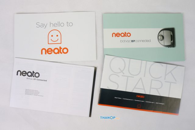 Neato Botvac D7 Connected User Manual and Other Documents