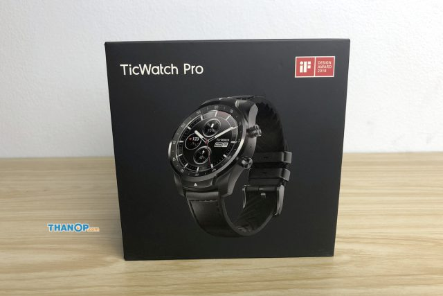 TicWatch Pro Box Front