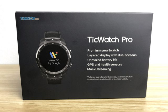 TicWatch Pro Box Top