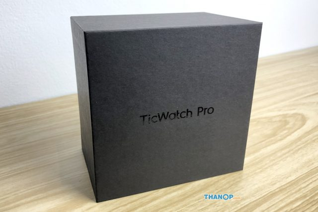 TicWatch Pro Box Unpacked