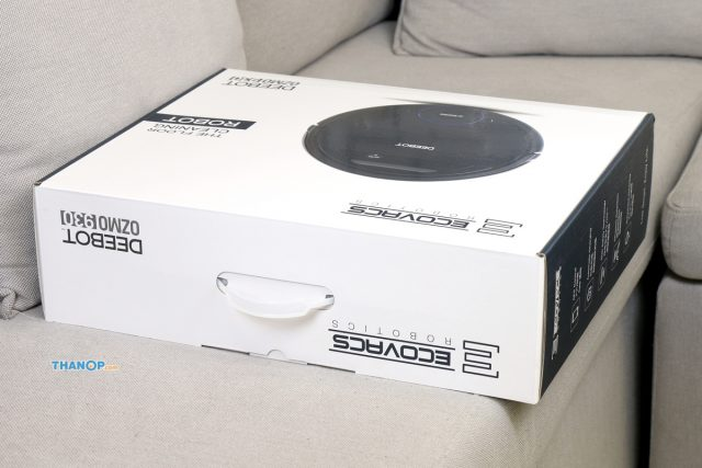ECOVACS DEEBOT OZMO 930 Box Top