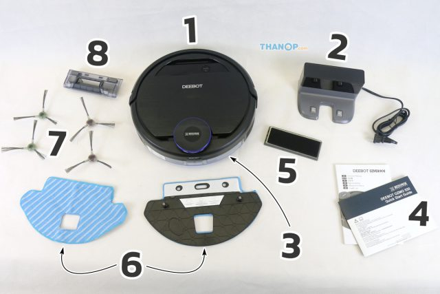 ECOVACS DEEBOT OZMO 930 Component