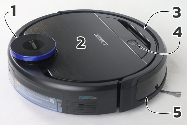 ECOVACS DEEBOT OZMO 930 Component Top