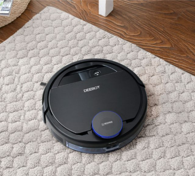 ECOVACS DEEBOT OZMO 930 Feature Intelligent Cleaning for Various Floor Types