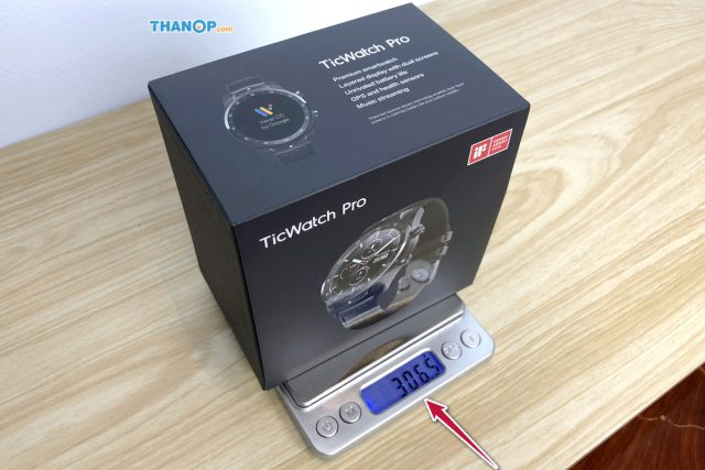 TicWatch Pro Box Gross Weight