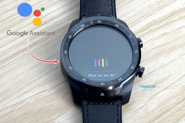 TicWatch Pro Feature Google Assistant Built-in