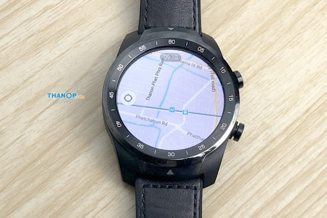 TicWatch Pro Screen Google Map