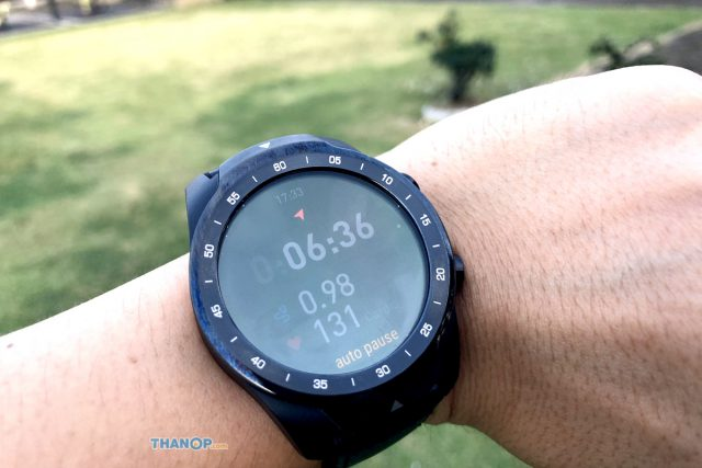 TicWatch Pro Screen TicHealth on Smart Mode