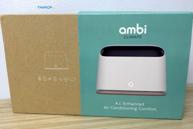 Ambi Climate 2 Box Unpacking