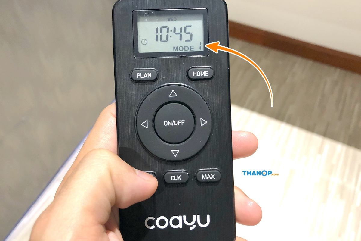 Inspire COAYU C510N Feature Various Cleaning Modes