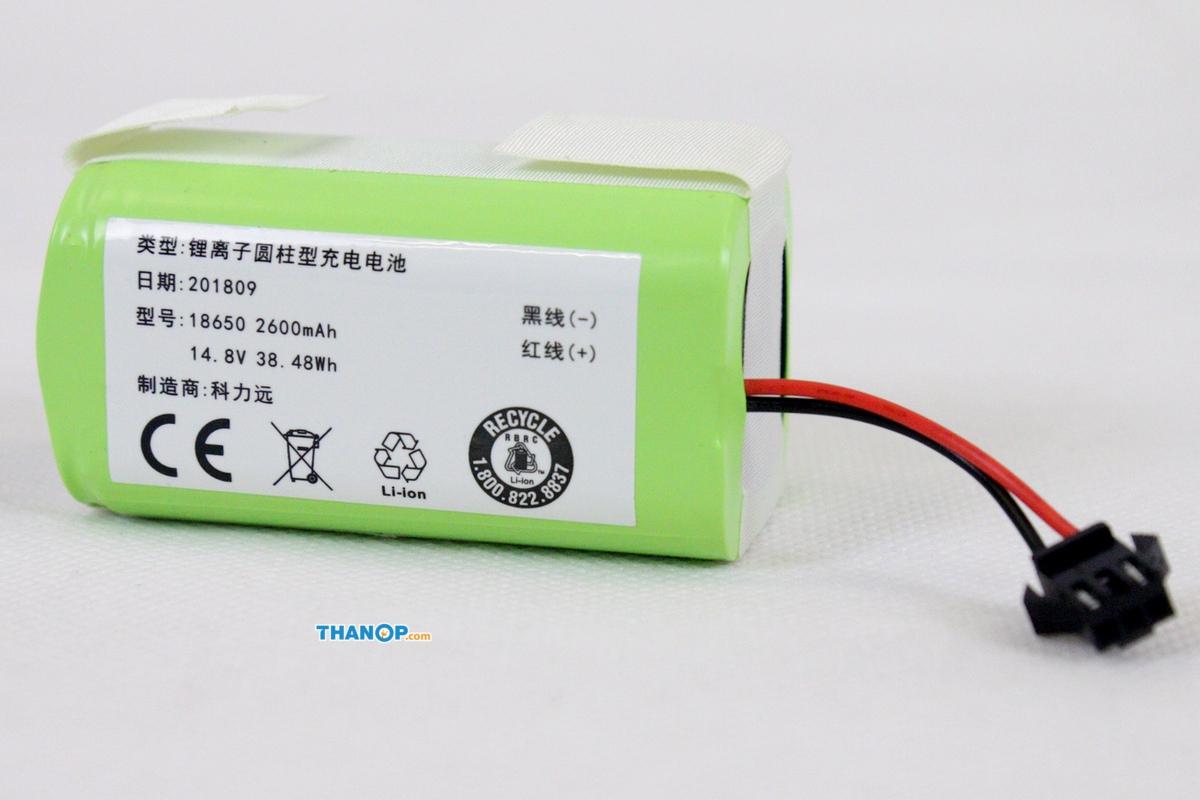 mamibot-exvac660-platinum-battery
