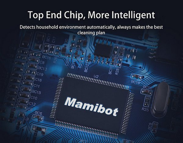 Mamibot EXVAC660 Platinum Feature Top End Processor Chip