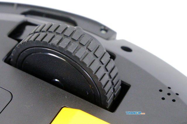 Mamibot EXVAC660 Platinum Main Wheel and Speaker