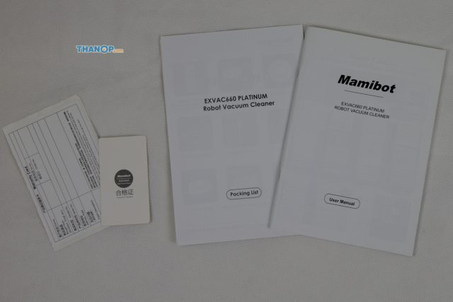 Mamibot EXVAC660 Platinum User Manual and Other Documents