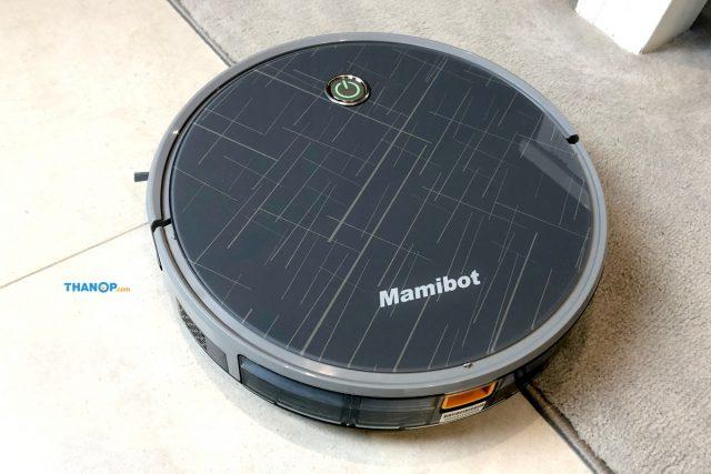 Mamibot EXVAC660 Platinum Working on Carpet