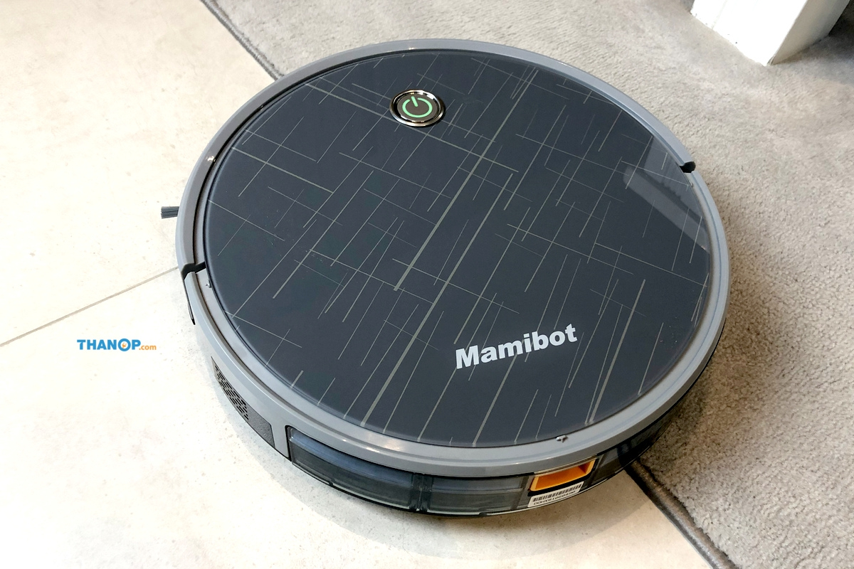 mamibot-exvac660-platinum-working-on-carpet