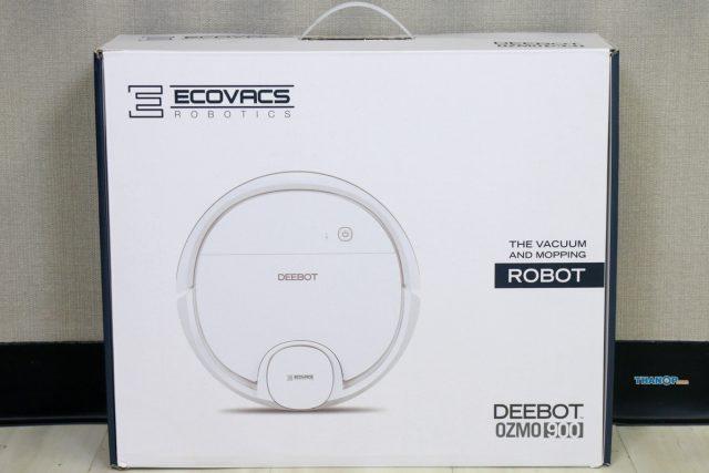 ECOVACS DEEBOT OZMO 900 Box Front